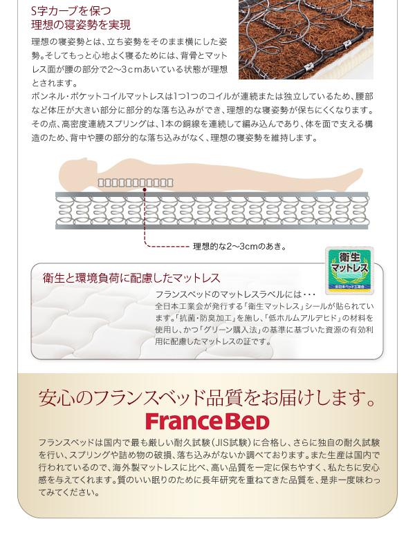 安心のフランスベッド品質をお届けします