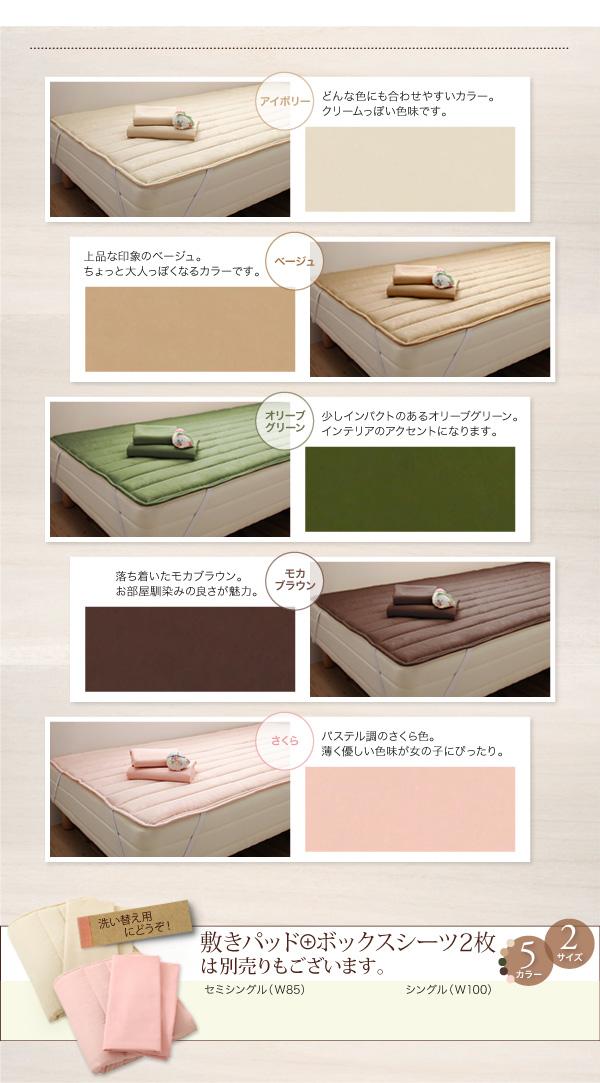 ショート丈天然木カントリー調コンセント付き収納ベッド【Reine】レーヌ