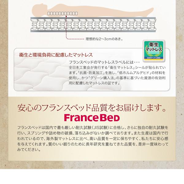 安心のフランスベッド品質をお届け