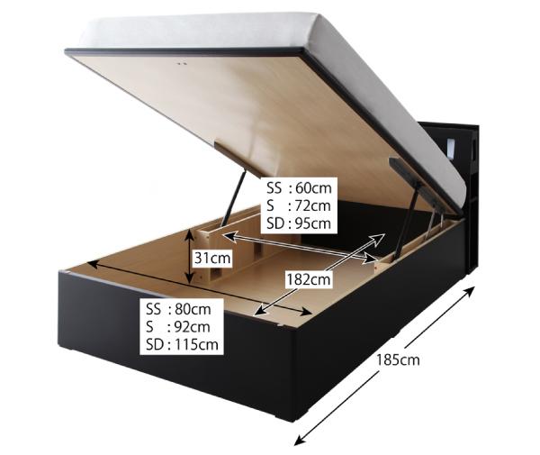 商品サイズ2【材質】プリント化粧板(ウレタン塗装仕上げ)、背面化粧仕上げ【耐荷重】セミシングル:100kg、シングル:120kg、セミダブル:120kg