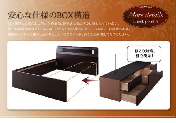 安心な仕様のBOX構造