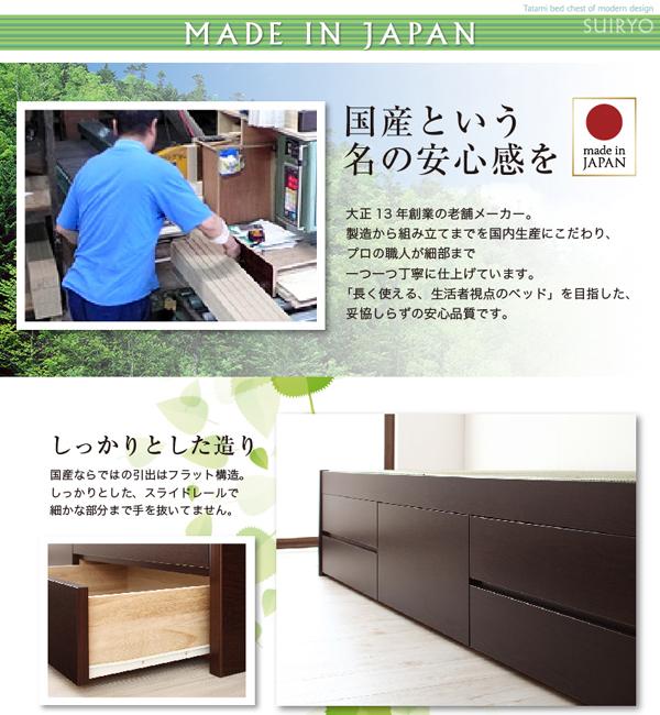 ●フレームは信頼の日本製