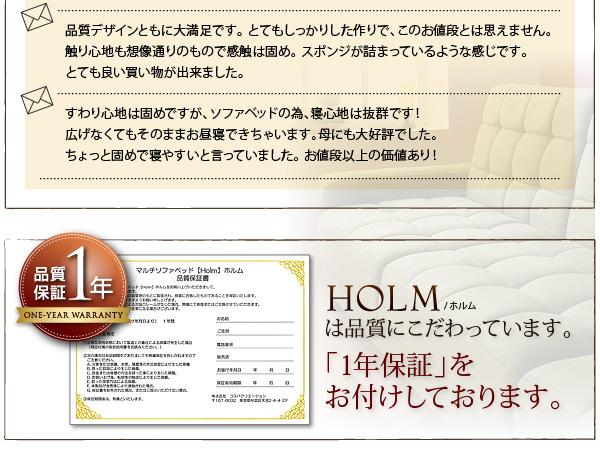 マルチソファベッド【Holm】ホルム