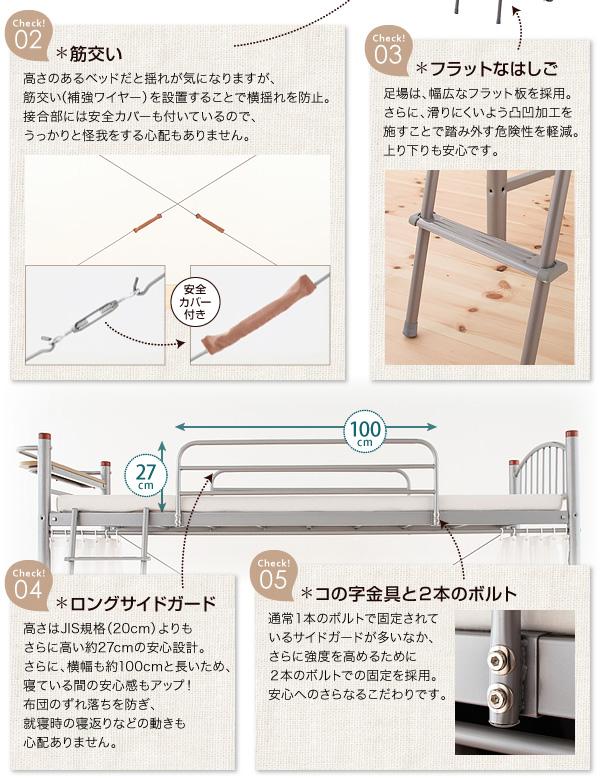 フラットなはしご