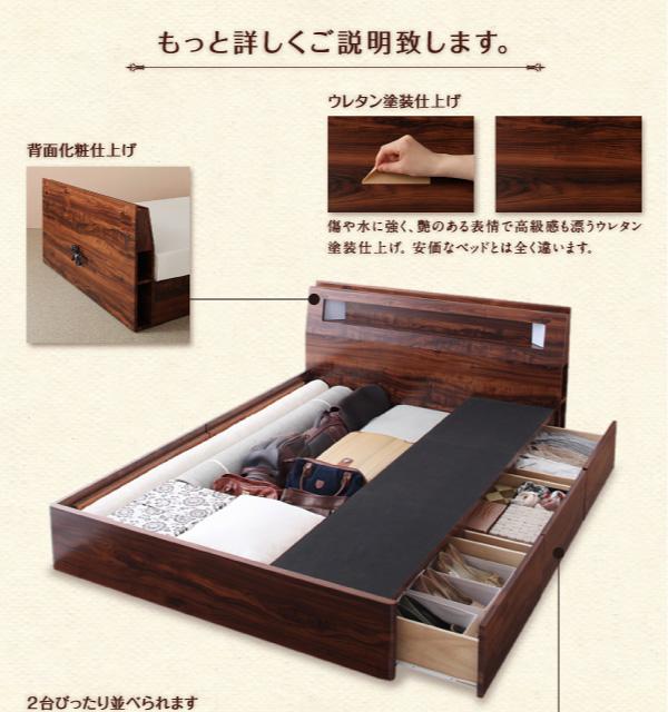 ベッド細部の説明