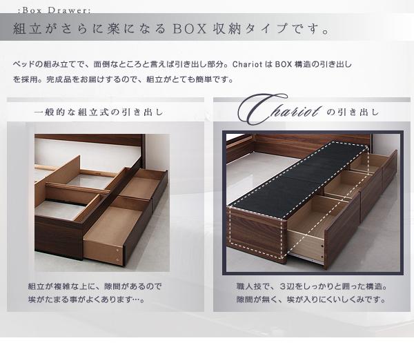 組立がさらに楽になるBOX収納タイプ
