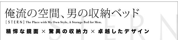男性のための収納ベッド