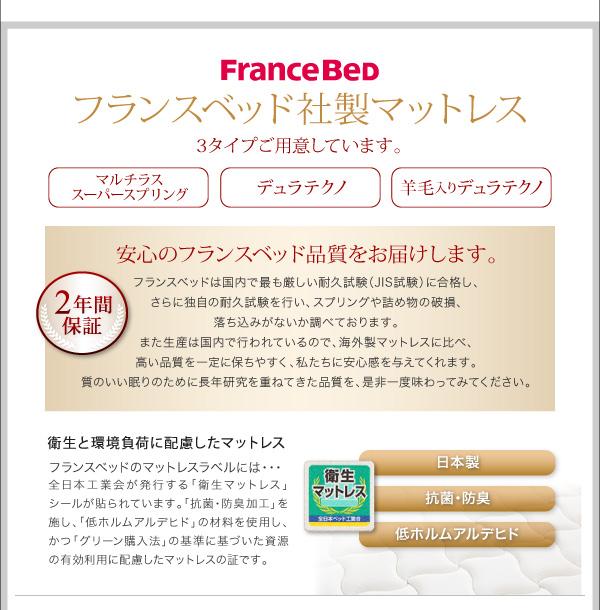 フランスベッド社製マットレス