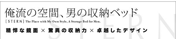 俺の為の収納ベッド