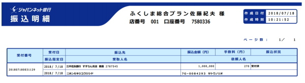 日本赤十字社 寄付